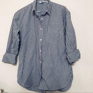 Uniqlo Tops - UNiQLO Stripped Dress Shirt